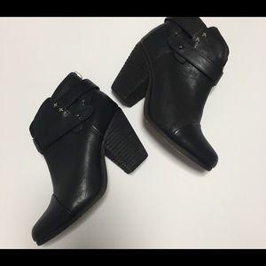 Rag and Bone Harrow Boot 35 Black Size 5 Ankle